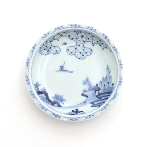PRIME 4.5寸皿(雲割山水文)