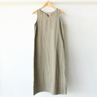 リア ノースリーブナイトシャツ