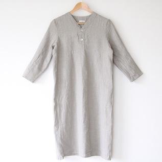 【別注】スピカリネンナイトシャツ ハーフ