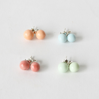 ピアス elements stud ball