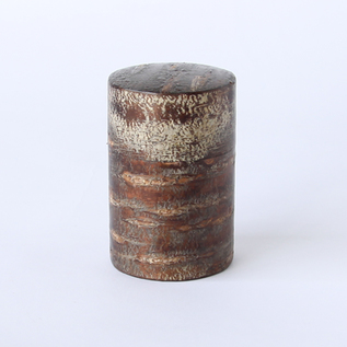 茶筒(中長)霜降皮