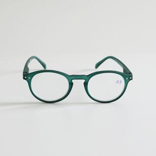 リーディンググラス A-GREEN CRYSTAL