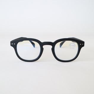 ブルーライトカットPCメガネ C-BLACK