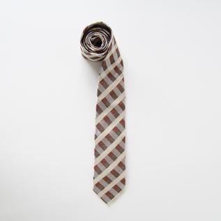 ネクタイ レッド?ブラウン