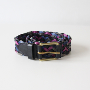 ベルト zigzag belt-multi color