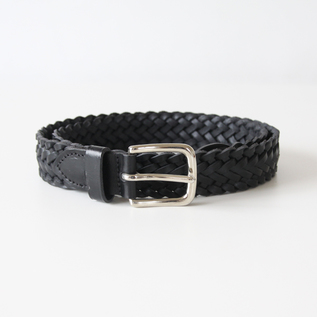ベルト 9plait belt-black