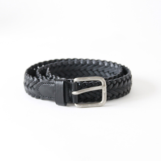 ベルト BRAIDED BELT BLACK