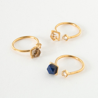【別注】CUBE ADJUSTABLE RING