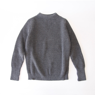 セーラーセーター THE NAVY CREWNECK grey