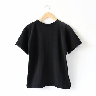 ニットTシャツ   BLACK