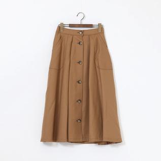 フロント ボタン スカート