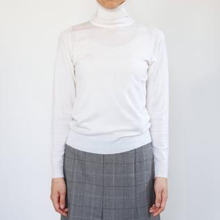 30G 長袖タートルネック