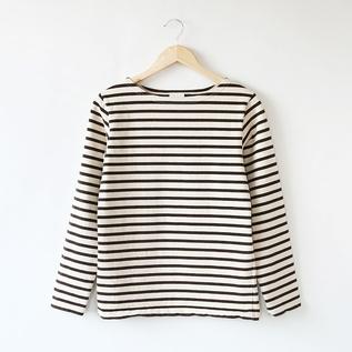 7.8oz ロングスリーブ ボーダーバスクシャツ