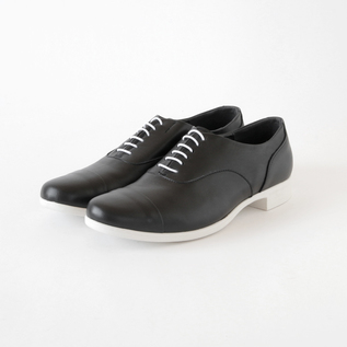 TRAVEL SHOES ストレートチップ レイン BL/WH