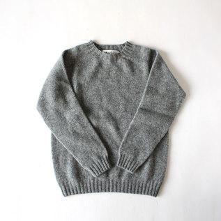 クルーネックセーター Medium Grey 030
