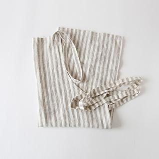 リネンエプロン Regular apron Stripe