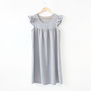 リネンパジャマ ドレス