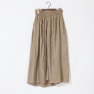 バンブーウール ギャザースカート