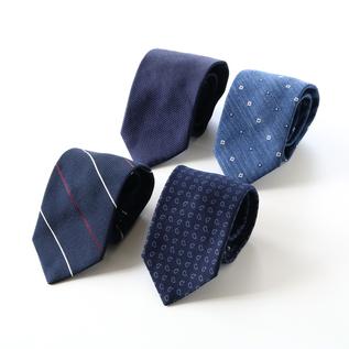 ネクタイ ネイビー?ブルー