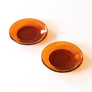 水輪 豆皿 2枚セット(円?光)