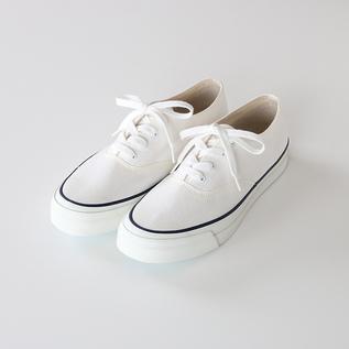 デッキシューズ L011/M014 WHITE