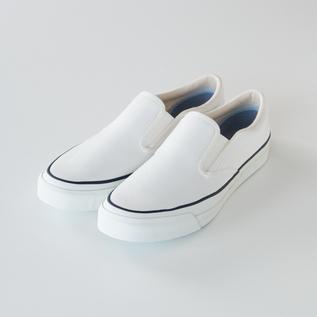 スリッポン L010 WHITE