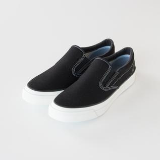 スリッポン L010 BLACK