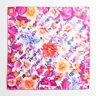 MANTERO シルクスカーフ (70×70)