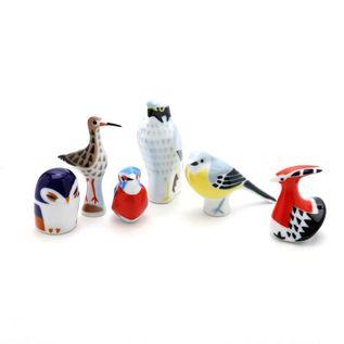 陶製置物 鳥