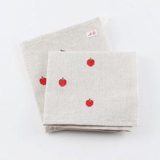 りんごトルション(キッチンクロス)