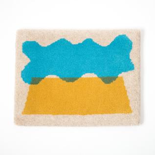米沢絨毯 スツールラグ