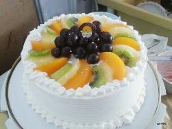 水果布丁香草蛋糕