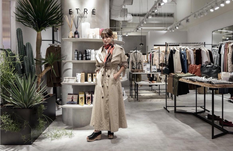 ライフスタイルブランド「ETRÉ TOKYO」、 東京の新宿ルミネ2に新店舗をオープン!