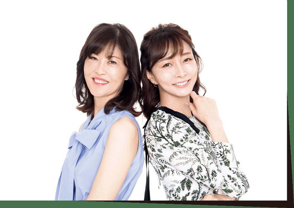 安倍佐和子さん 石井美保さん