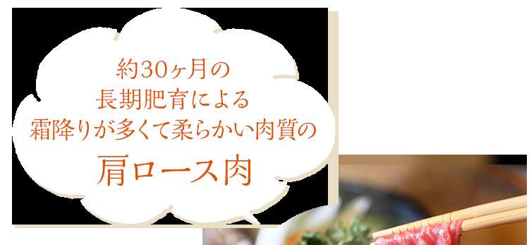 ★特別価格★吟醸牛肩ロース・すきやき用