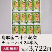 鳥取産二十世紀梨チューハイ24本入 名産の梨を使用したオリジナル商品