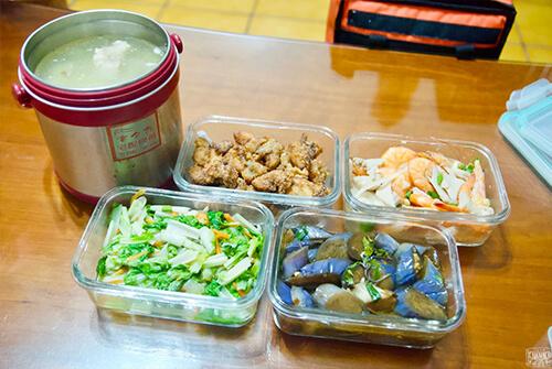 宅夕食|媽媽免出門免下廚 熱騰騰4菜1湯 營養均衡送到