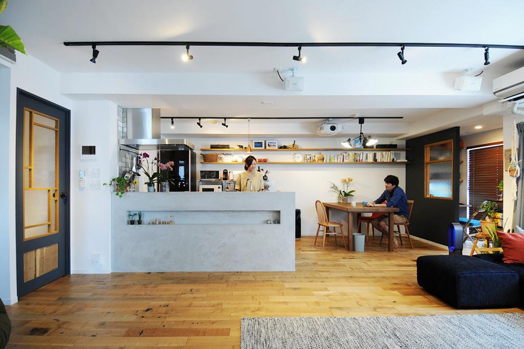 ●施工事例2:お気に入りのインテリアに囲まれた快適なお部屋