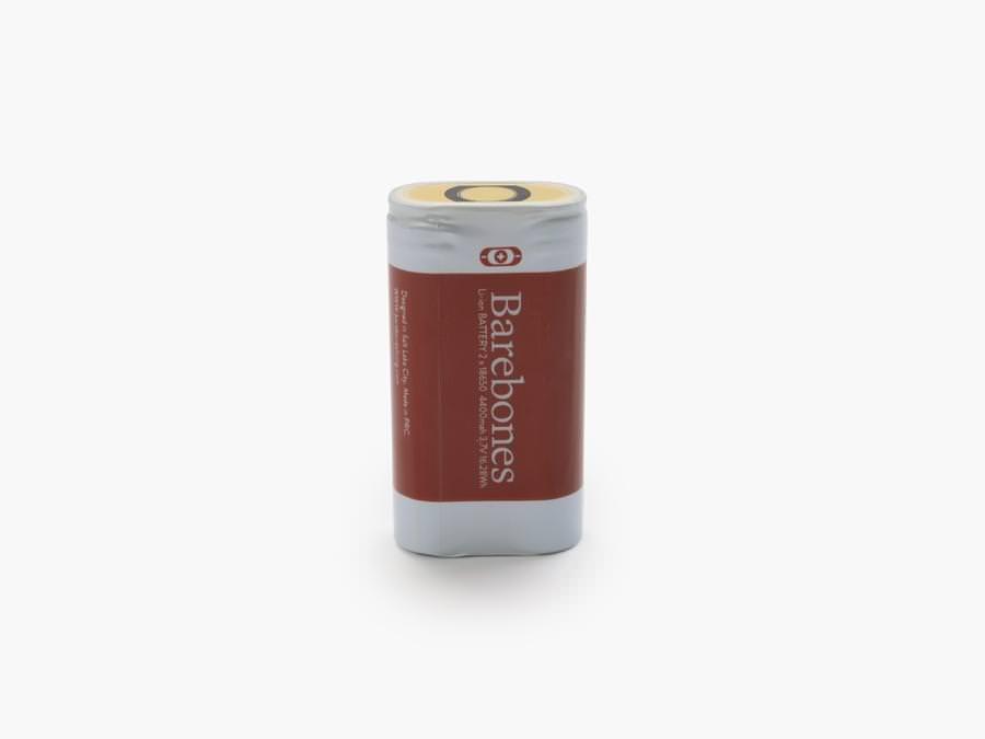 2-18650 リチウムイオンバッテリー
