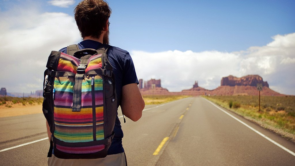 Travel Backpack | Raja Pack | Guatemala Fabric