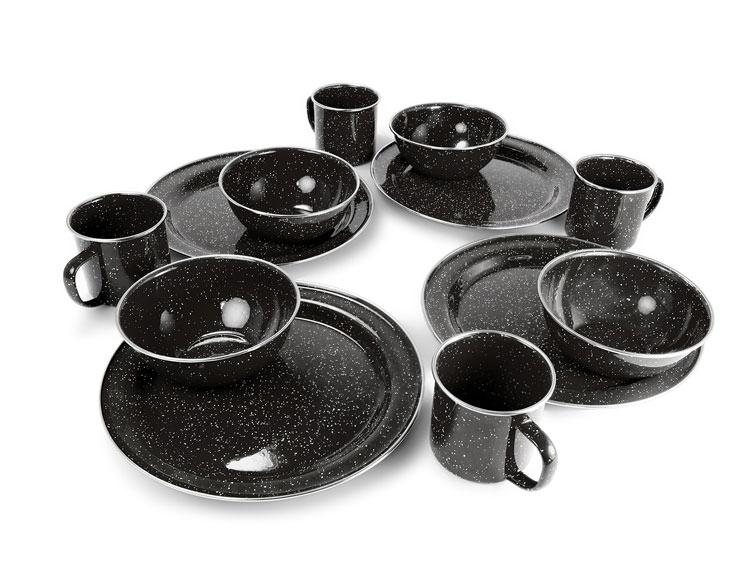 PIONEER TABLE SET- BLACK
