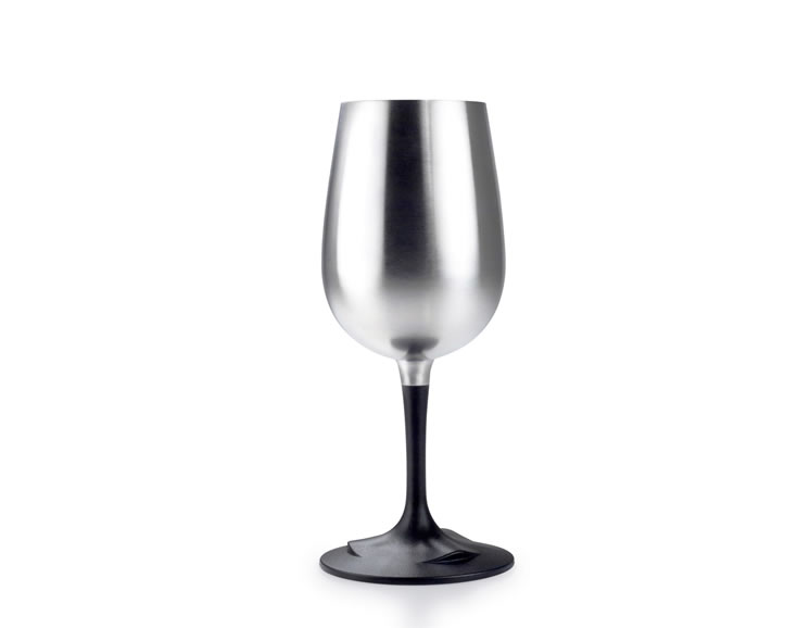 GLACIER STAINLESS NESTING WINE GLASS