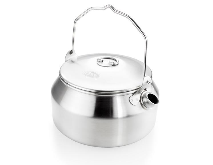 GLACIER STAINLESS TEA KETTLE - 1 QT.