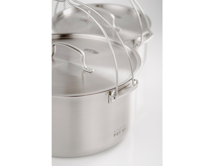 GLACIER STAINLESS TROOP COOKSET