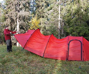 テント設営のコツ