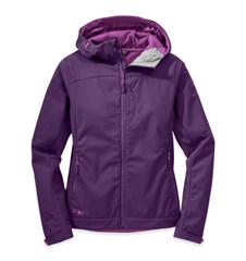 Transfer Hooded Jacket , WOMEN'S