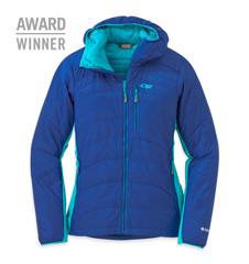 Cathode Hooded Jacket , WOMEN'S