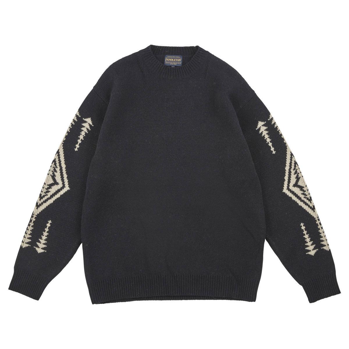 L/S ラムズウールモックネックセーター