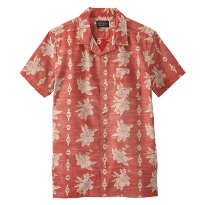 79171 Red Hibiscus Print