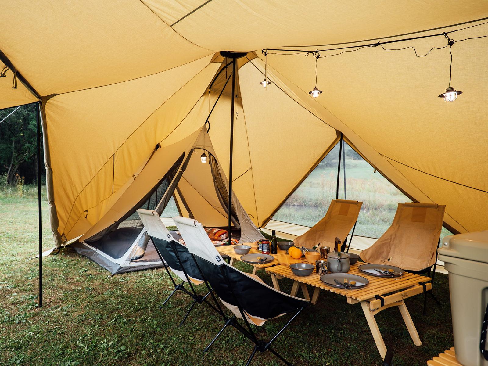 パイロット スカイ SABBATICAL (サバティカル)のテントやシェルターに魅了される!
